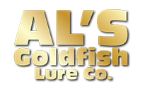 Al's Goldfish Promotional Fishing Lures Logo